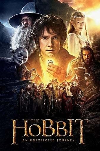 Hobbit 1 Beklenmedik Yolculuk 1080p BluRay TR-ENG Film İndir