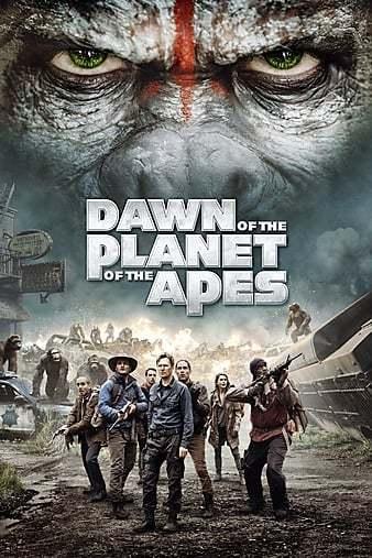 Maymunlar Cehennemi Şafak Vakti 2014 1080p TR-ENG Film İndir