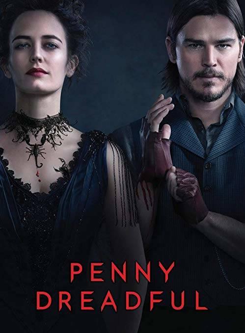 Penny Dreadful 1,2,3.Sezon İndir 1080p BluRay Türkçe Dublaj TR-ENG Dizi