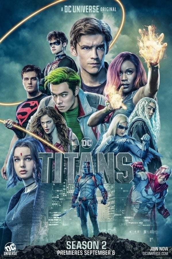 Titans İndir 2.Sezon 1080p Türkçe Dublaj Tüm Bölümler TR-ENG Dizi