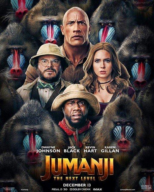 Jumanji 2 Yeni Seviye İndir 720p-1080p-4K Türkçe Dublaj TR-ENG Film