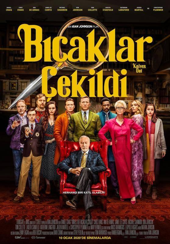 Bıçaklar Çekildi İndir 720p-1080p Türkçe Dublaj TR-ENG 2019 Film